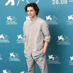 Timothee Chalamet at Venice International Film Festival