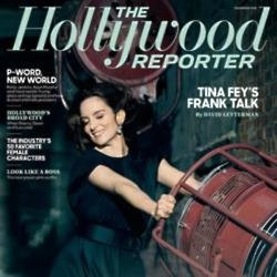 Tina Fey's Hollywood Reporter cover