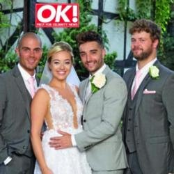 Kelsey and Tom in OK! magazine