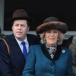Tom Parker-Bowles  with his mother Duchess Camilla
