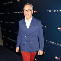 Tommy Hilfiger at store launch