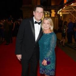 Tony Hadley and his wife Alison