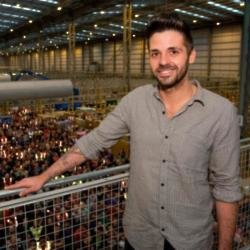 UK No. 1 selling artist Ben Haenow Performs at Amazon Fulfilment Centre in Peterborough as part of Amazon.co.uk's Black Friday Deals Week