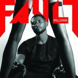 Usher on FAULT magazine cover