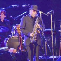 Van Morrison at Life and Soul event