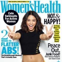 Vanessa Hudgens for Women's Health magazine