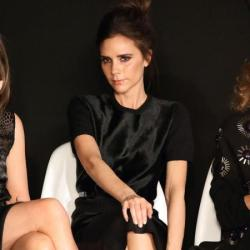 Victoria Beckham at the Woolmark Prize event