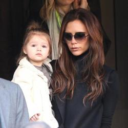 Harper Beckham came out top on the vote