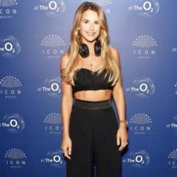 Vogue Williams at ICON Outlet launch