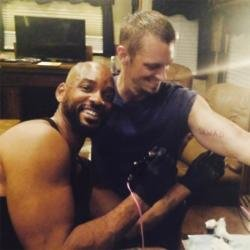 Will Smith and Joel Kinnaman (c) Instagram
