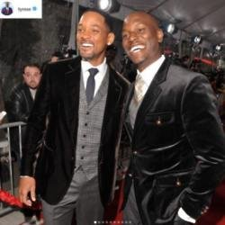 Tyrese Gibson und Will Smith