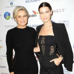 Yolanda and Bella Hadid