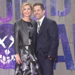 Zack Snyder with wife Deborah