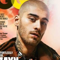 Zayn Malik on GQ magazine