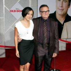 Zelda Williams with her father Robin