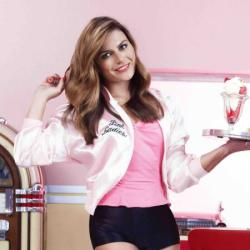 Zoe Hardman supporting Asda's Tickled Pink campaign