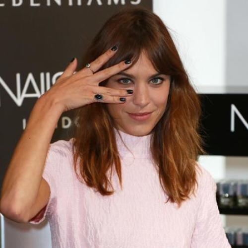 Alexa Chung Says New York Inspired Nails Inc Collection