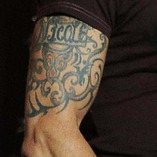 Keith Urban's new tattoo