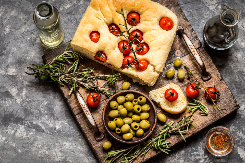 Focaccia art is the latest food trend – and it's really pretty