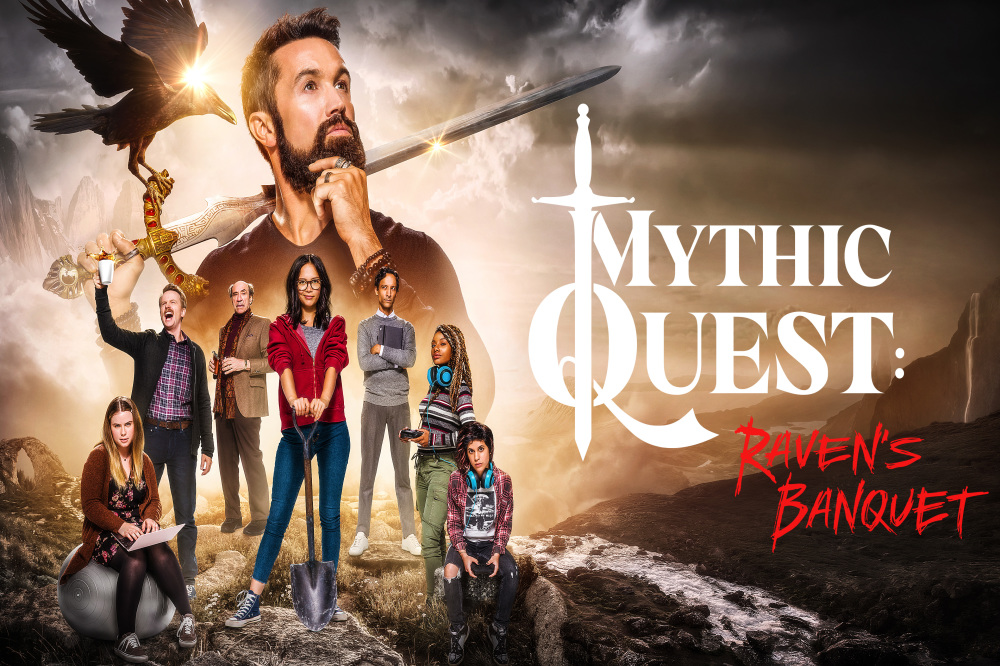 Rob Mc Elhenney on 'nightmare' of remotely filming Mythic Quest Raven's Banquet