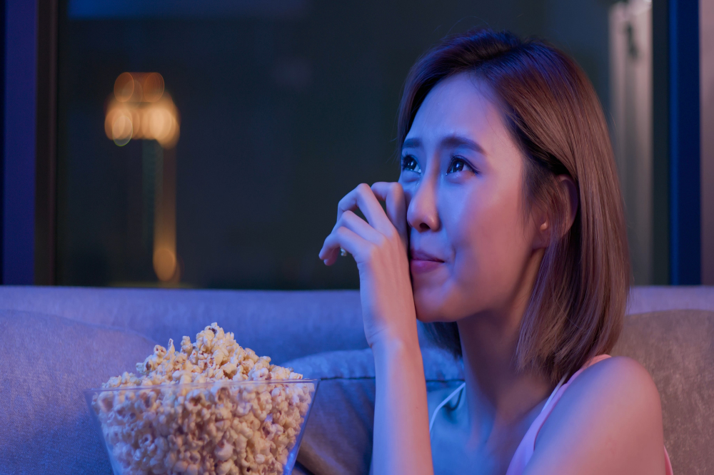 Why crying at sad films can make us feel better during hard times