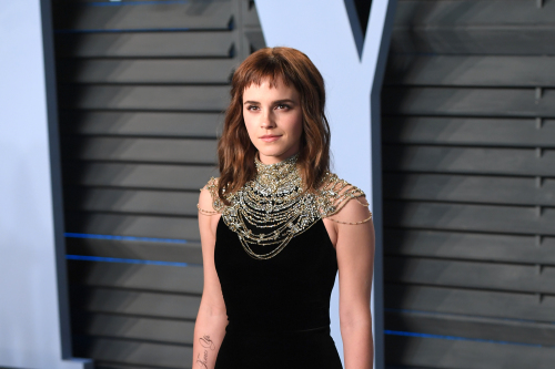 Emma Watson says white supremacy is 'tightly stitched into society'
