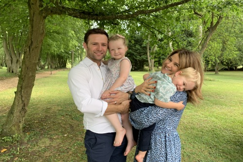 Harry and Izzy Judd on keeping their kids entertained during lockdown