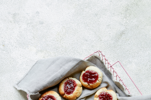 Jammy thumbprint cookies recipe