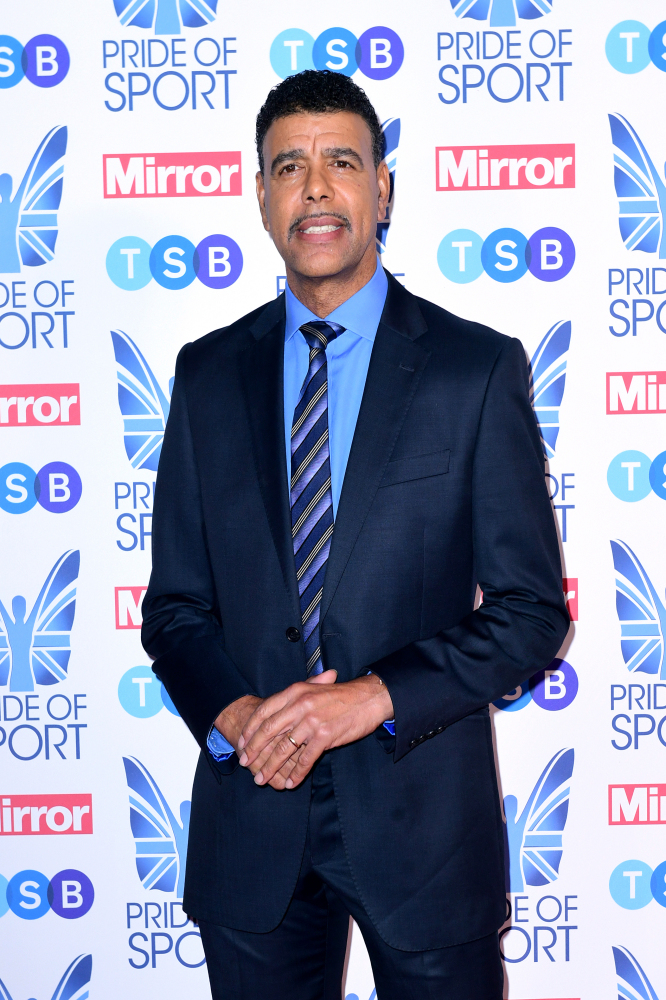 Chris Kamara: 'I don't get nervous on TV – I have the opportunity to be me'