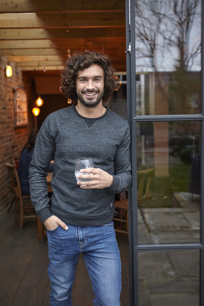 Joe Wicks: 'I've learned patience and tolerance while weaning my daughter'