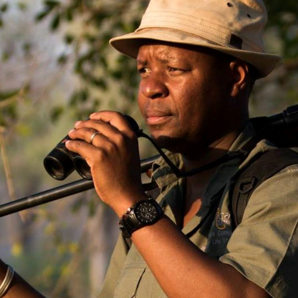 Beks Ndlovu,safari guide and founder of African Bush Camps (ABC/PA)