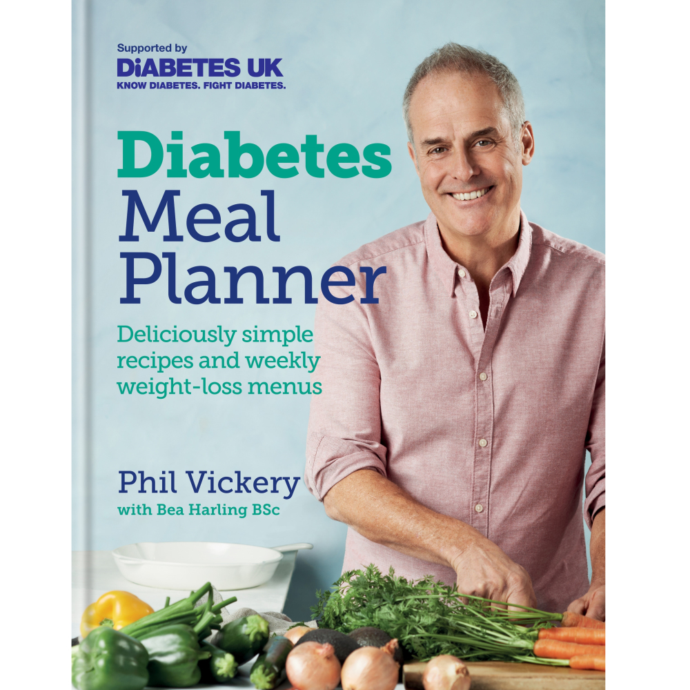 Diabetes Meal Planner by Phil Vickery with Bea Harling BSc (Kyle Books/Kate Whitaker/PA)