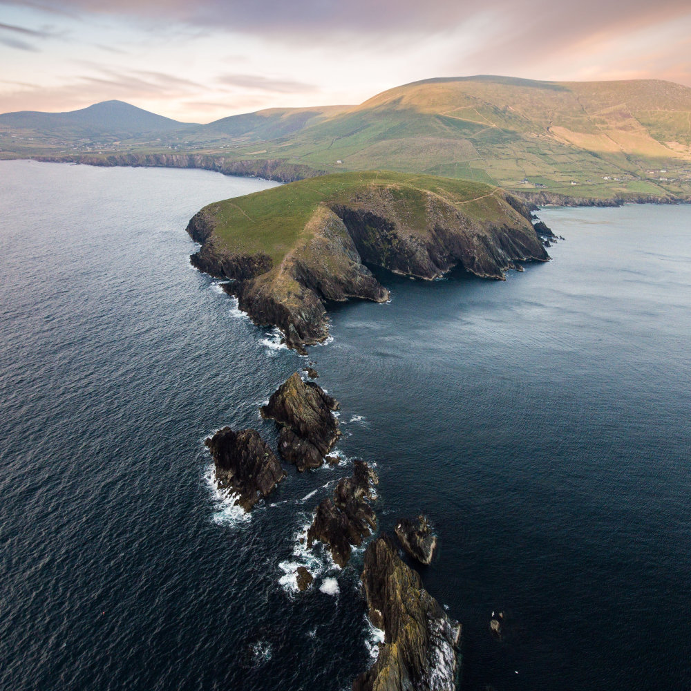 Dunmore Head on the Dingle Peninsula, Co Kerry (Visit Ireland/PA)