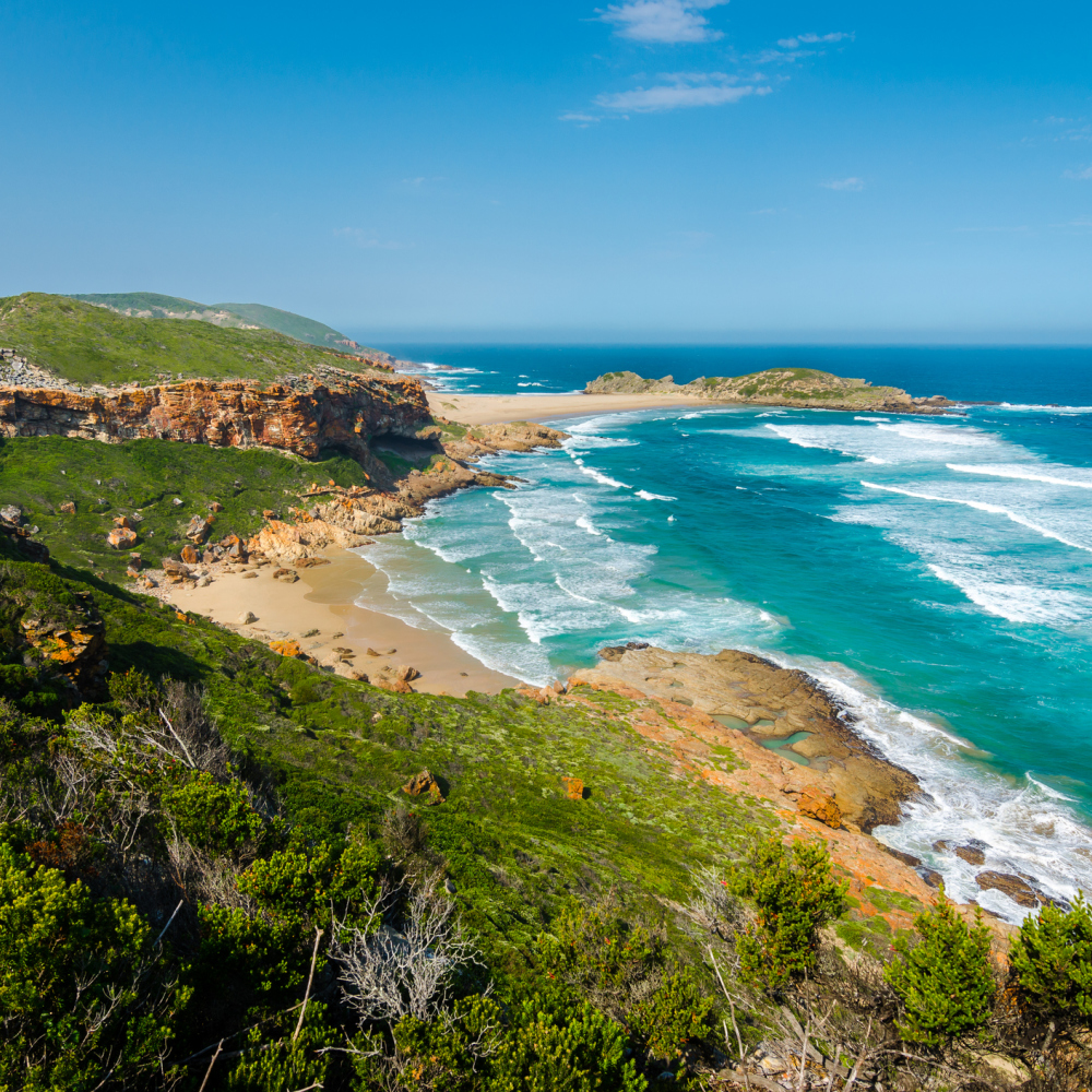 Robberg Nature Reserve on South Africa's Garden Route (iStock/PA)