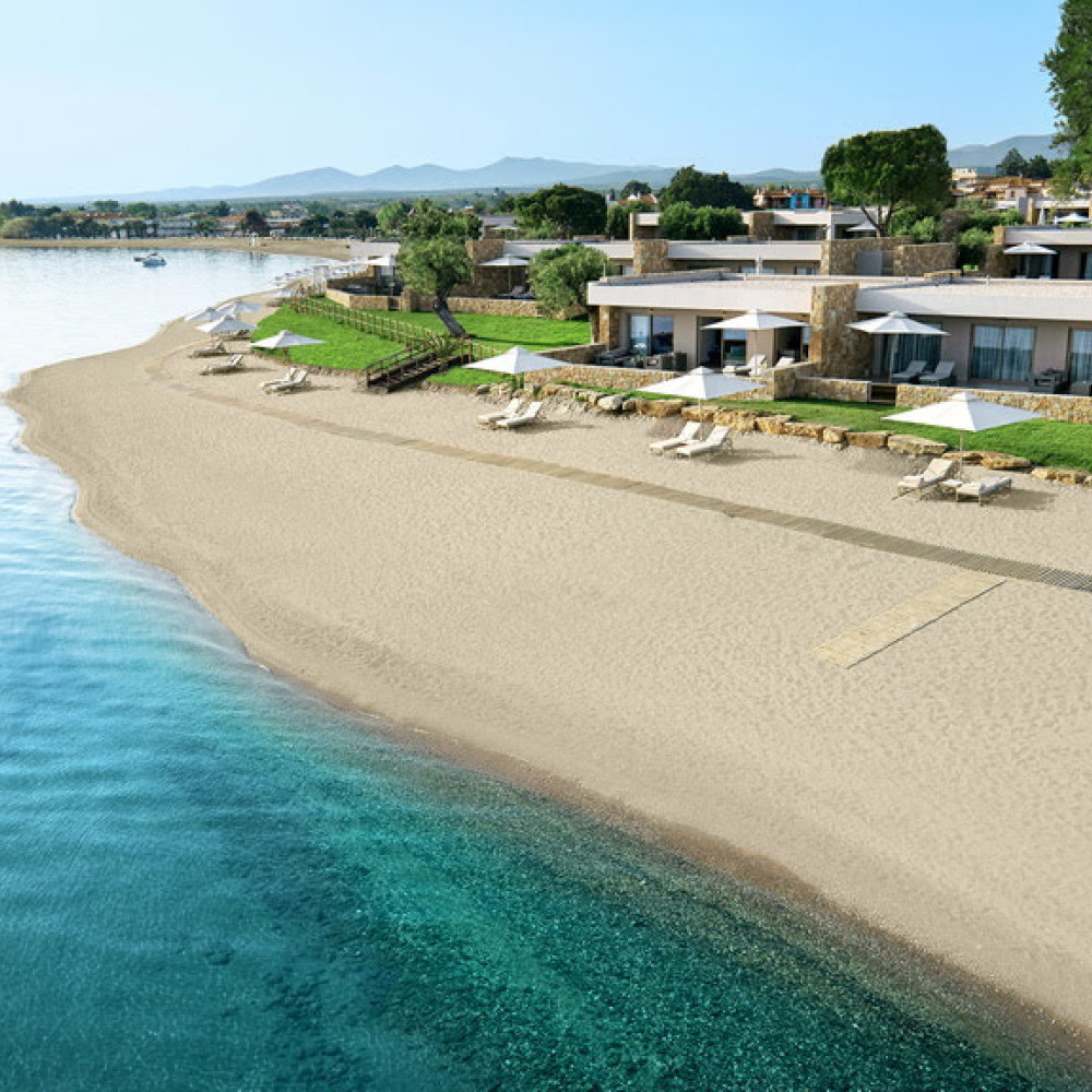The new Ikos Olivia in Halkidiki, Greece opens in July (Ikos/PA)