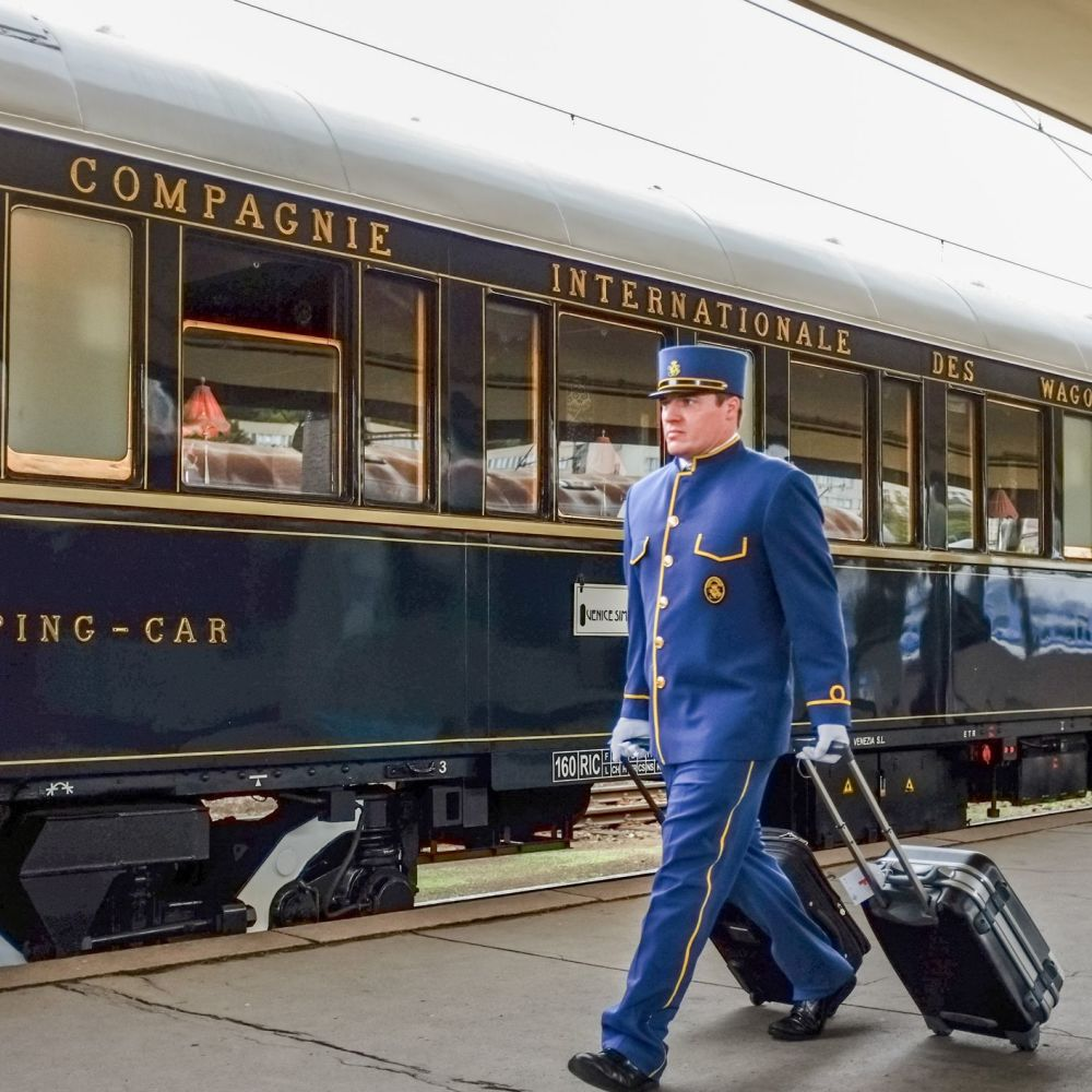 The Orient Express recalls an era of luxurious, slow travel (iStock/PA)