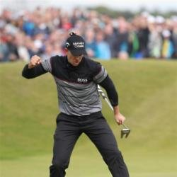 Stenson claims Open glory