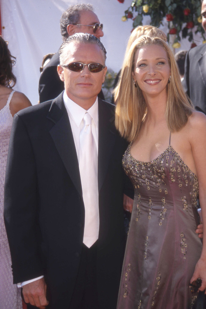 Lisa Kudrow and Michel Stern (Credit: Famous)