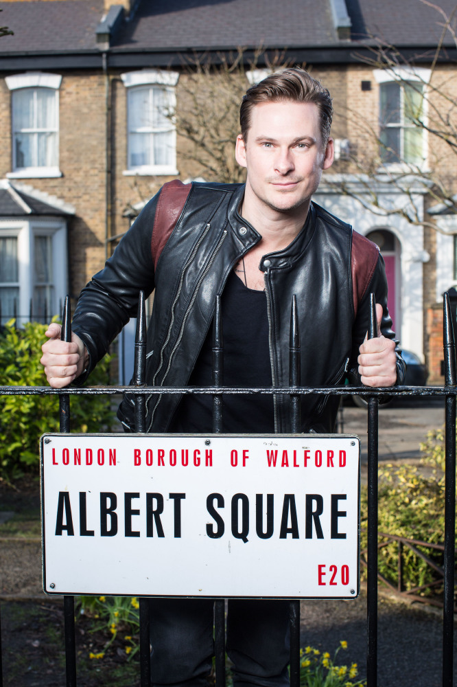 Lee Ryan as 'Woody' Woodward / Credit: BBC