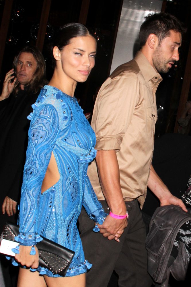 Celebrity Wedding Anniversary Adriana Lima And Marko Jaric 4 2 2009