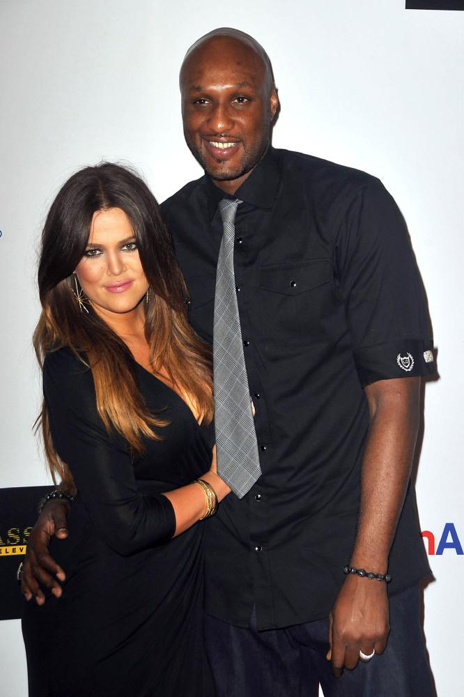 Celebrity Wedding Anniversary: Khloe Kardashian and Lamar ...