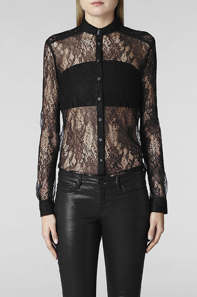 AllSaints Lace Leus Shirt We Want!