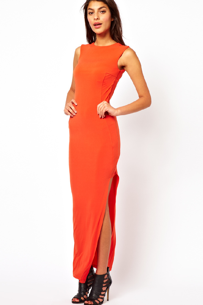 Side Split Maxi Skirts And Dresses Shop The Trend