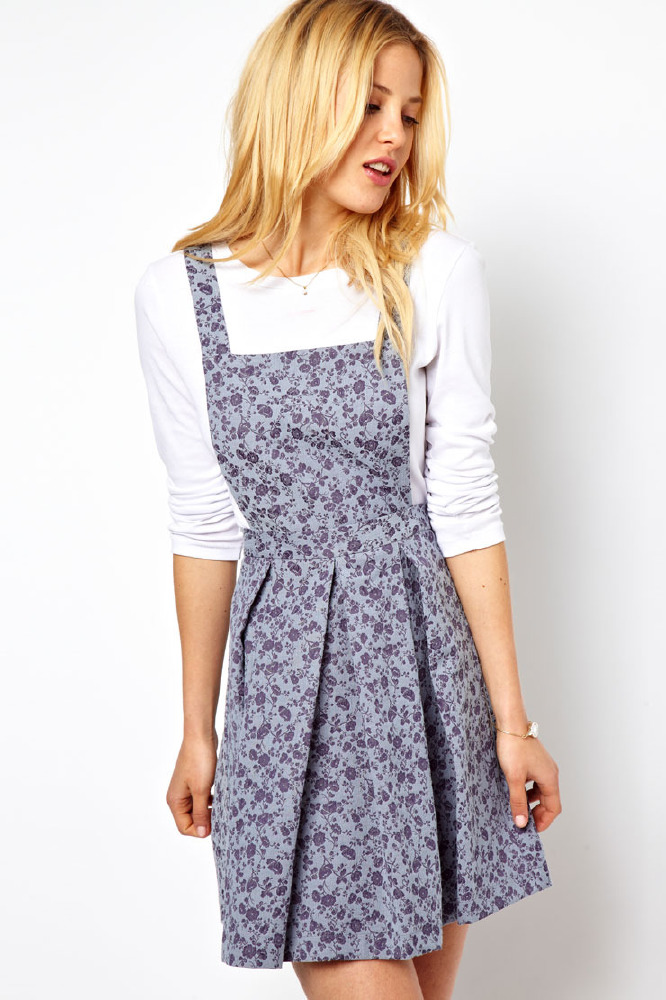 Pinafore Dresses – Shop the Trend