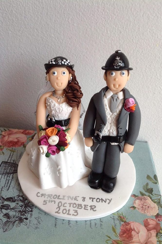 The Rise Of The Personalised Wedding Cake Topper