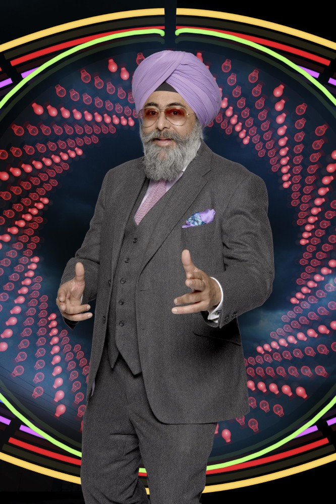 Hardeep Singh Kohli is up for eviction alongside Natalie / Credit: Channel 5