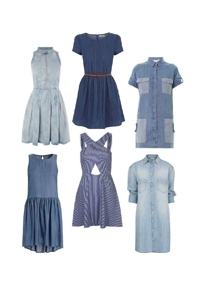 Will a denim dress be a staple item for you this summer?