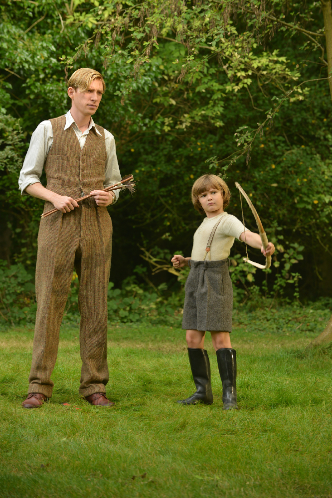 Domhnall Gleeson stars as famed author A. A. Milne