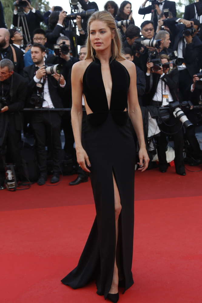 Doutzen on the red carpet at the Cannes Film Festival in May, the model has said she would like to make the move into acting