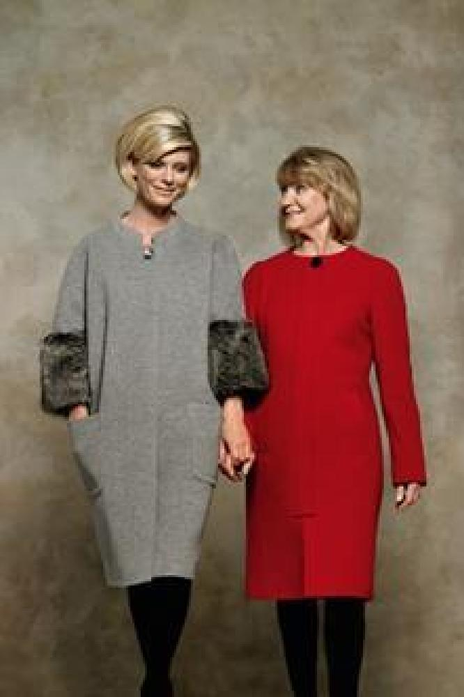 Emilia Fox and mum Joanna David are helping to support the campaign